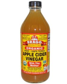 Bragg Organic Raw Apple Cider Vinegar with the mother